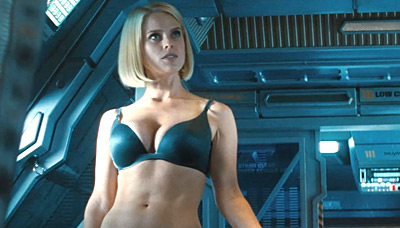 Zoe star saldana naked trek
