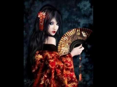 Asian goth teen
