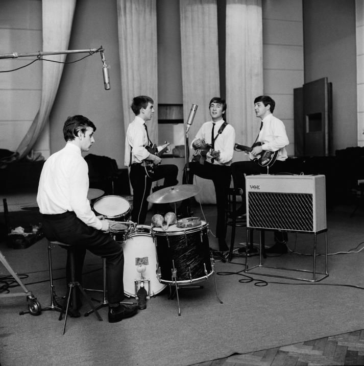 recording session Beatles abbey road