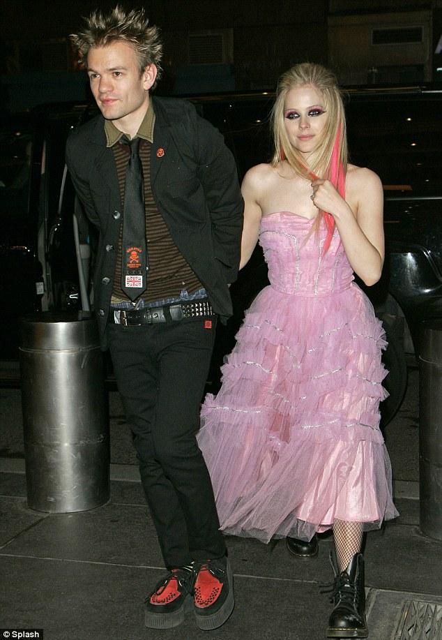 Avril lavigne deryck whibley