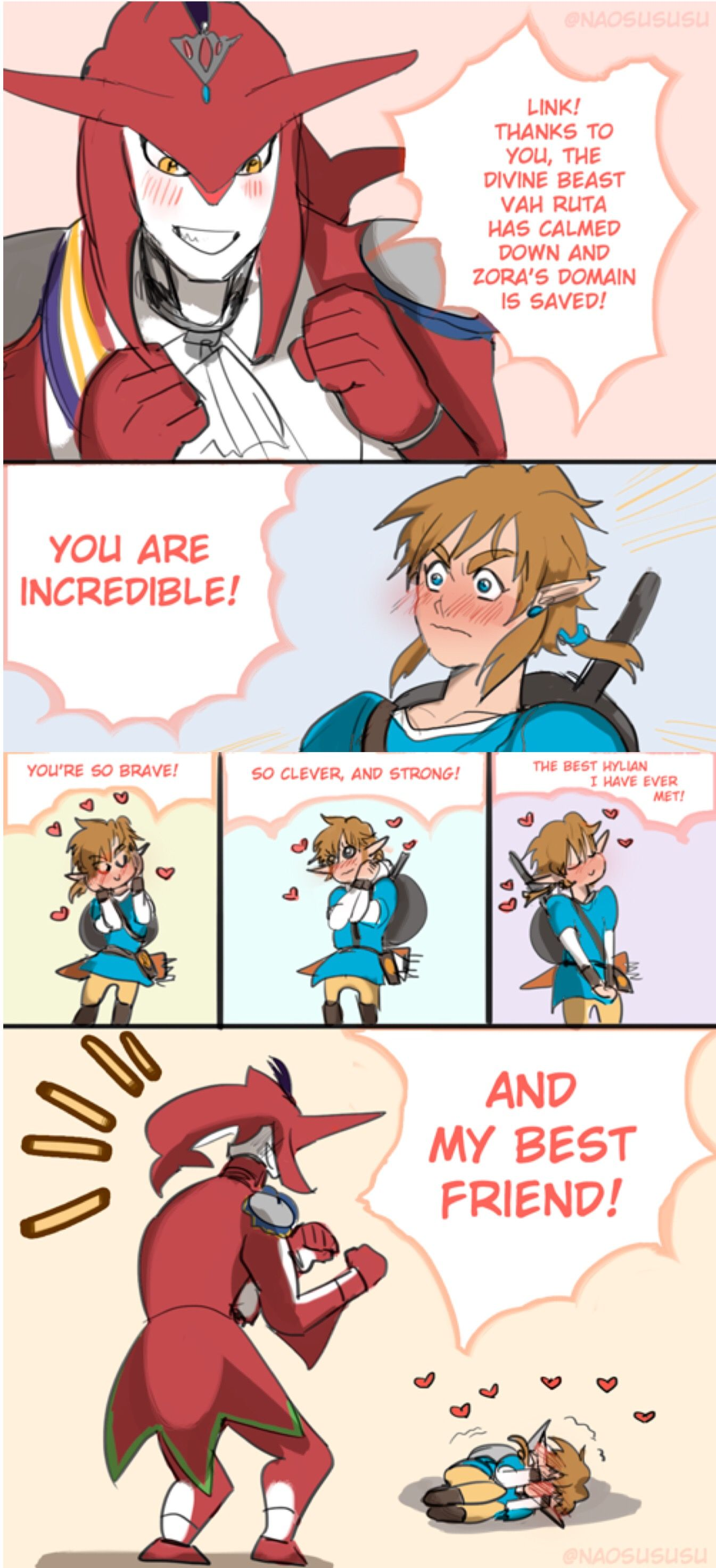 Legend of zelda link gay hentai comics