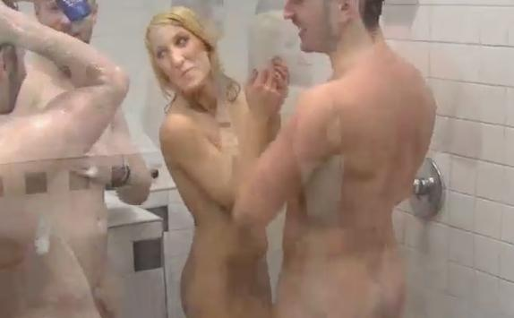Nude girls locker room showers