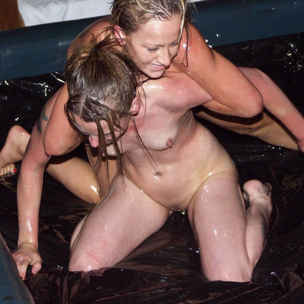Naked women oil wrestling girls nude
