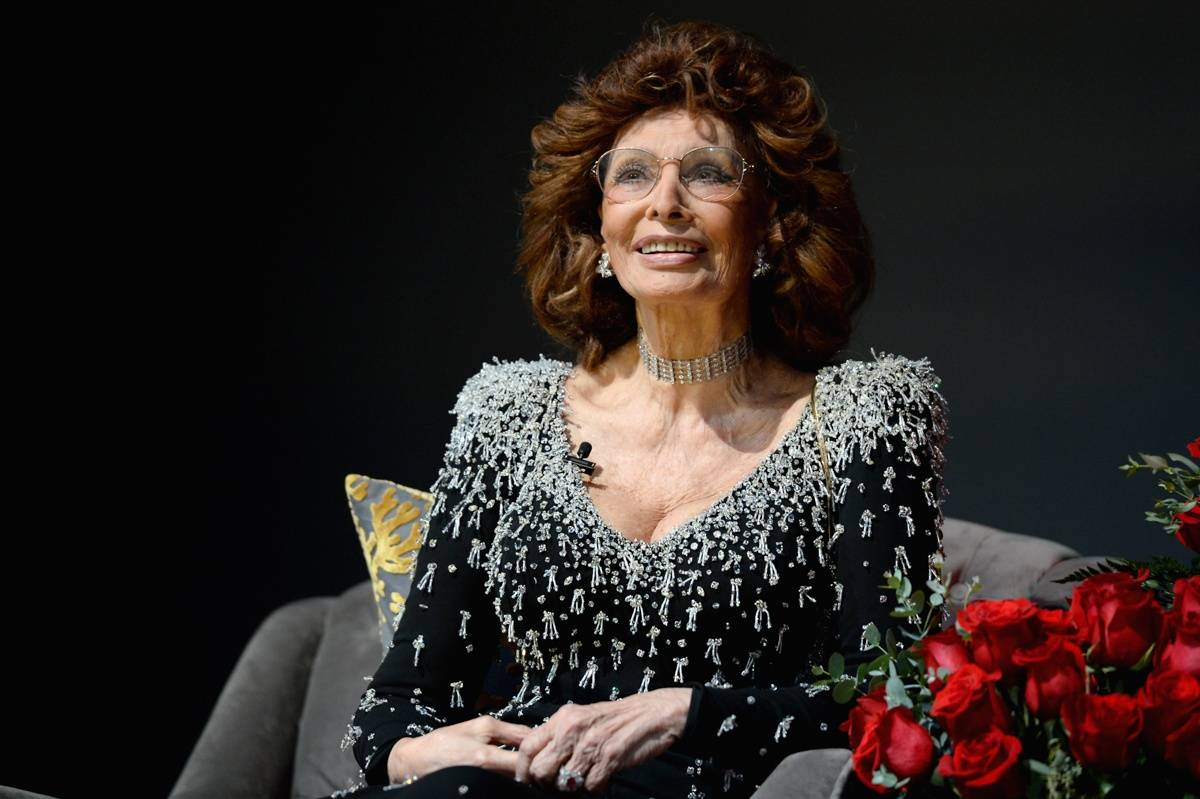 Sophia loren today