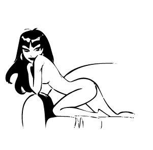 Beautiful girls sex cartoon