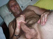 daddy old Naked gay man