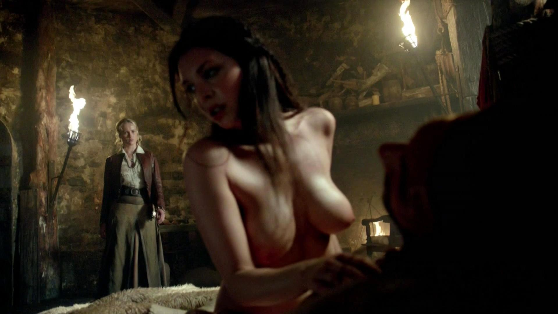 Black sails jessica parker sex scene