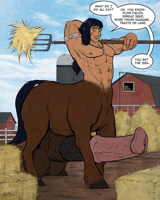 Centaur sex cartoon