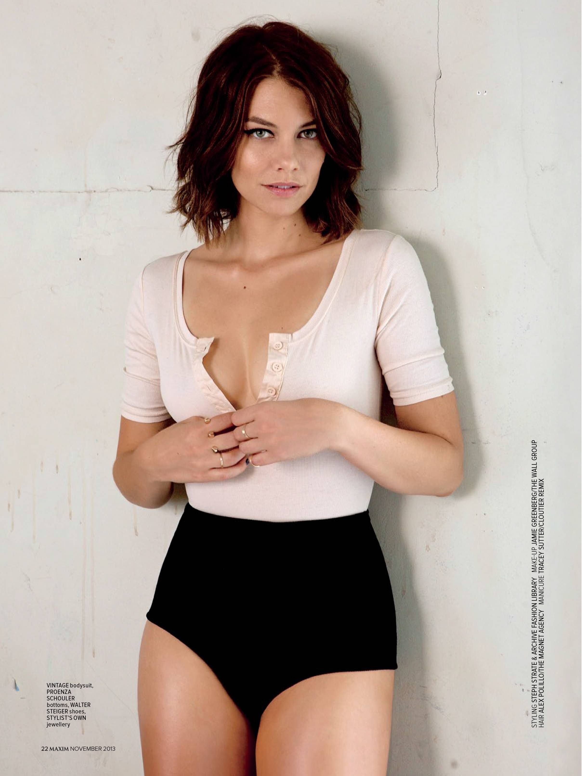 Black and white lauren cohan nude