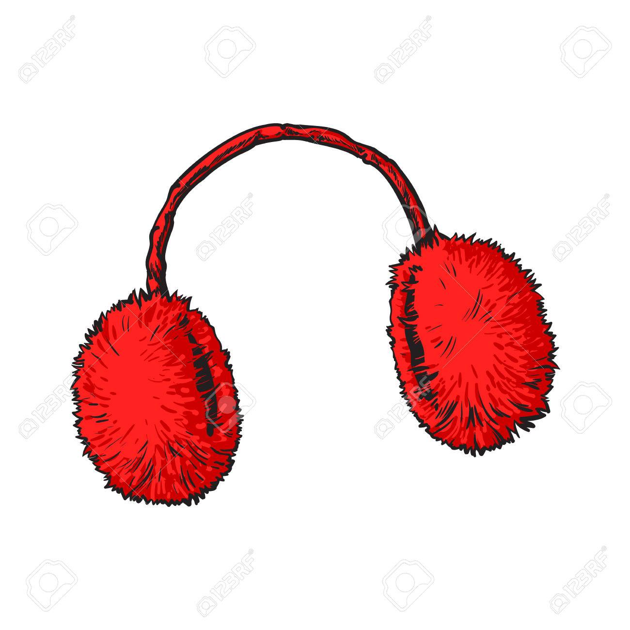 Ear muffs clip art free