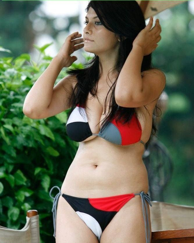 Indian girl swimsuit models