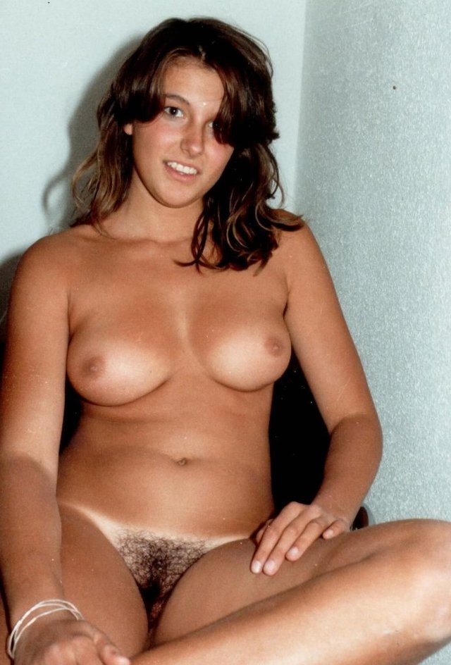 Nude hairy girl and boys