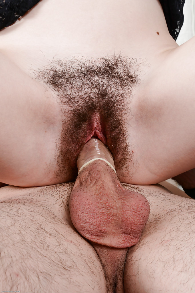 Cum covered hairy pussies
