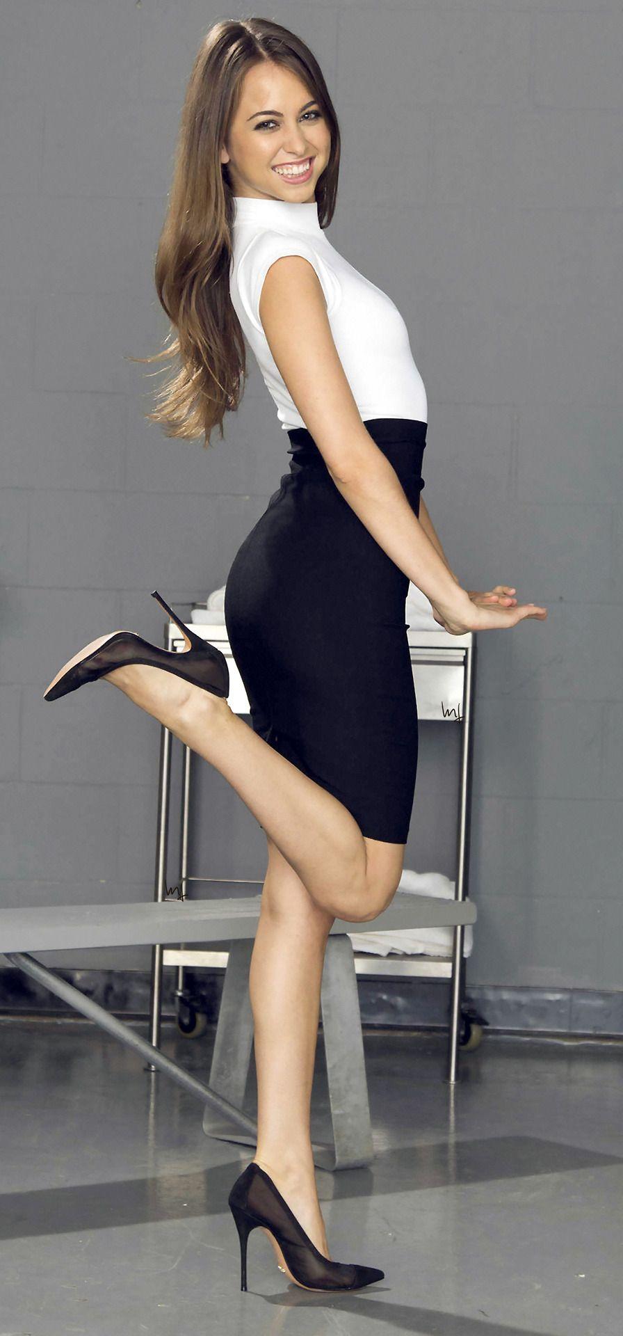 Riley reid high heels