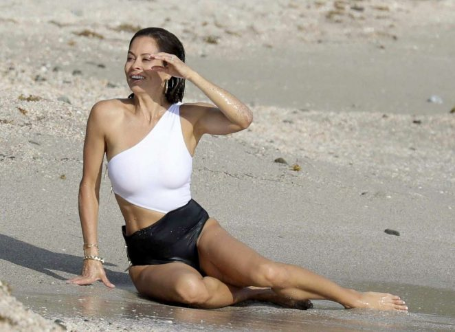 white black Brooke burke