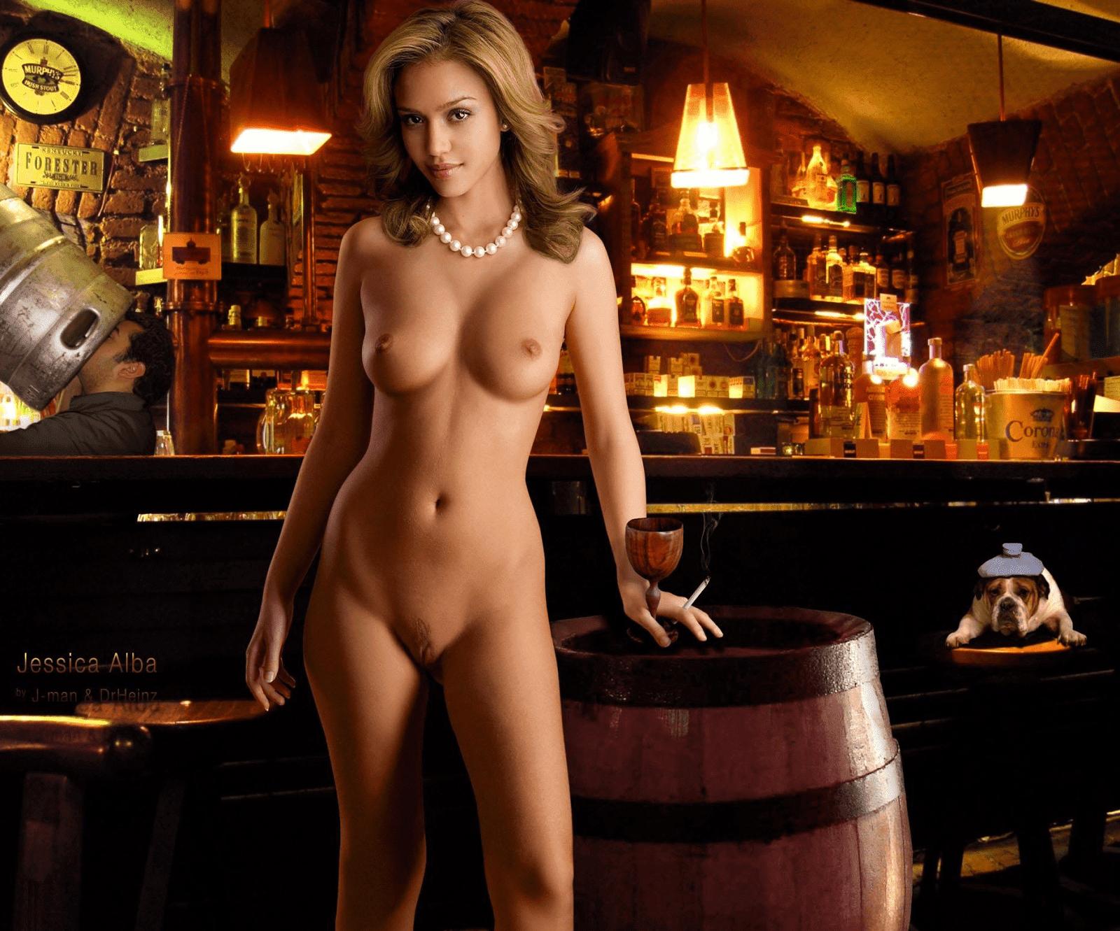 Jessica alba nude pussy