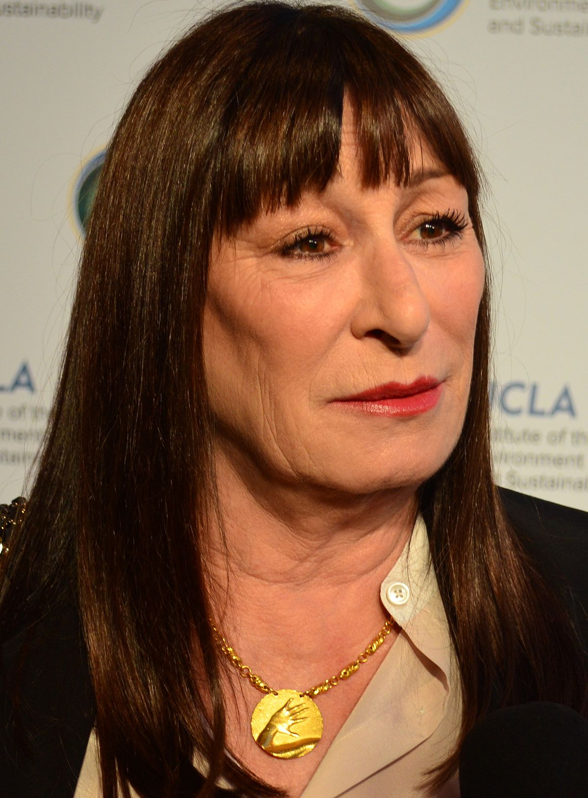 Anjelica is time standing still