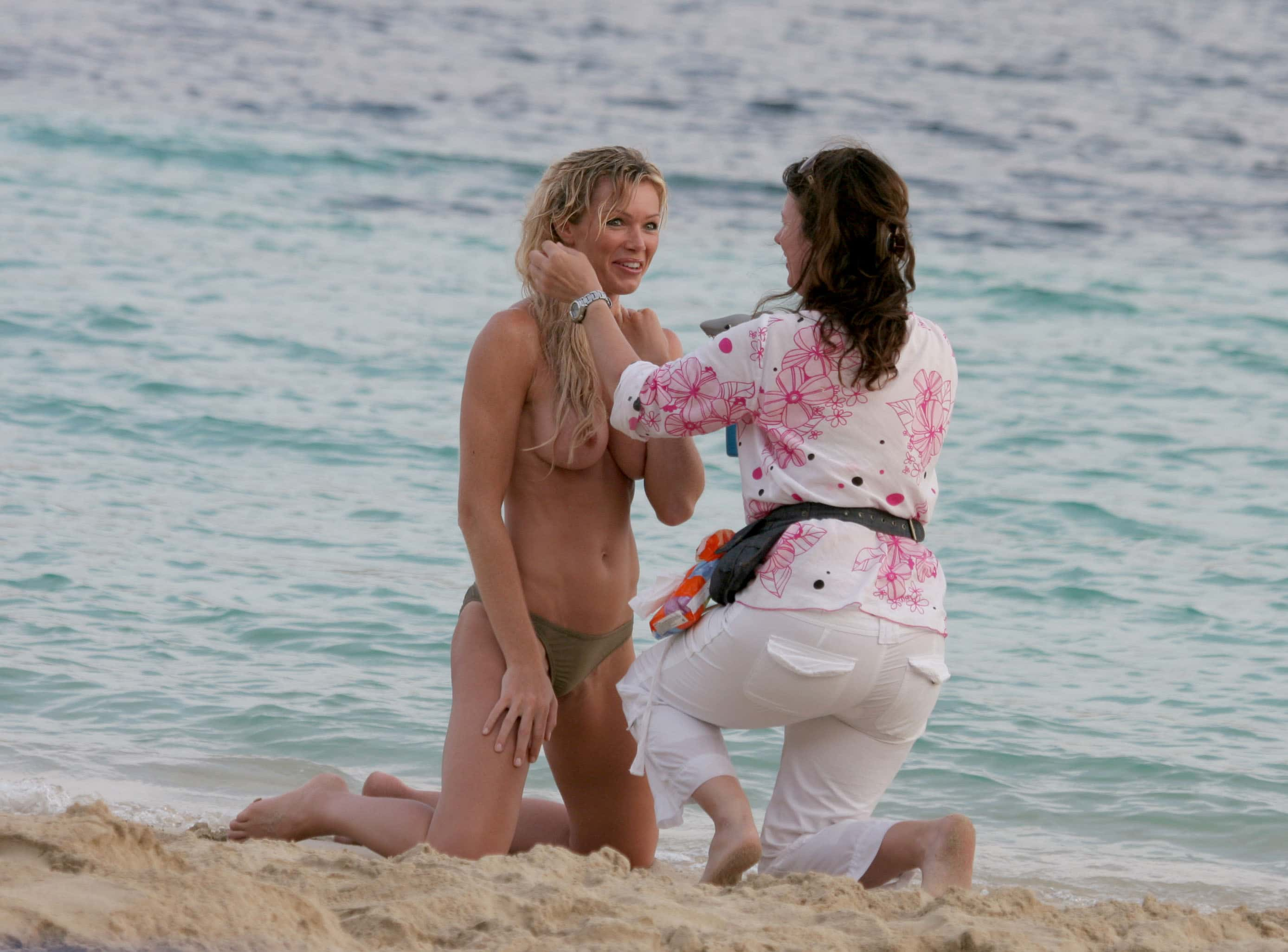 Nell mcandrew nude beach