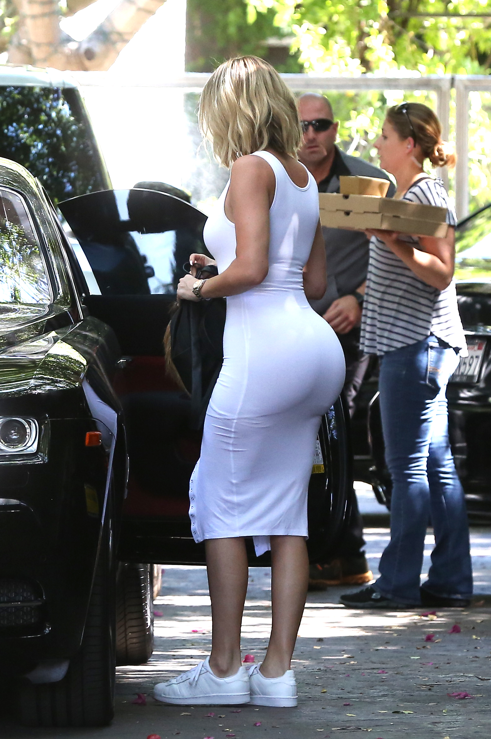 Big ass tight dress