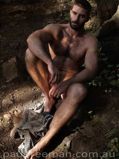 nude Hairy rugged men