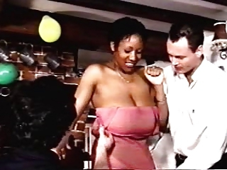 Vintage big ebony boobs