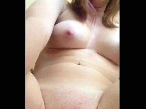 Cute amateur girl fingering shaved pussy