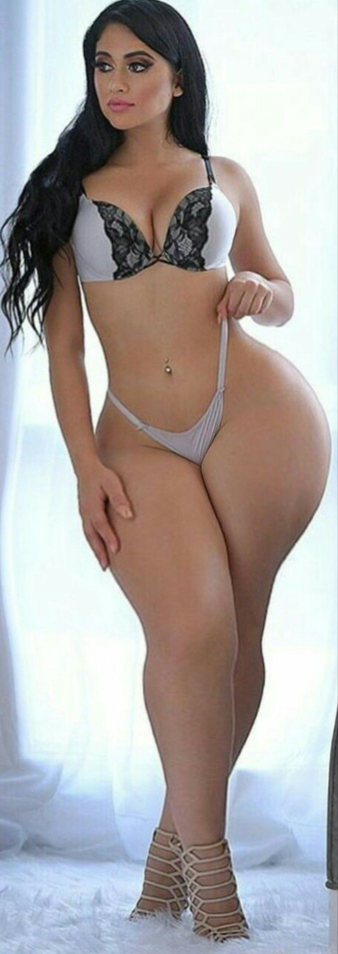 Sexy thick thigh latina women naked