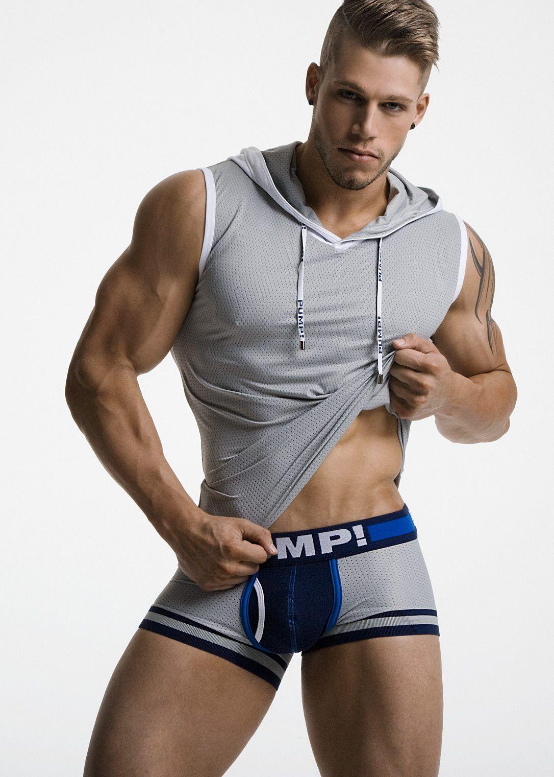 black Underwear hood gay