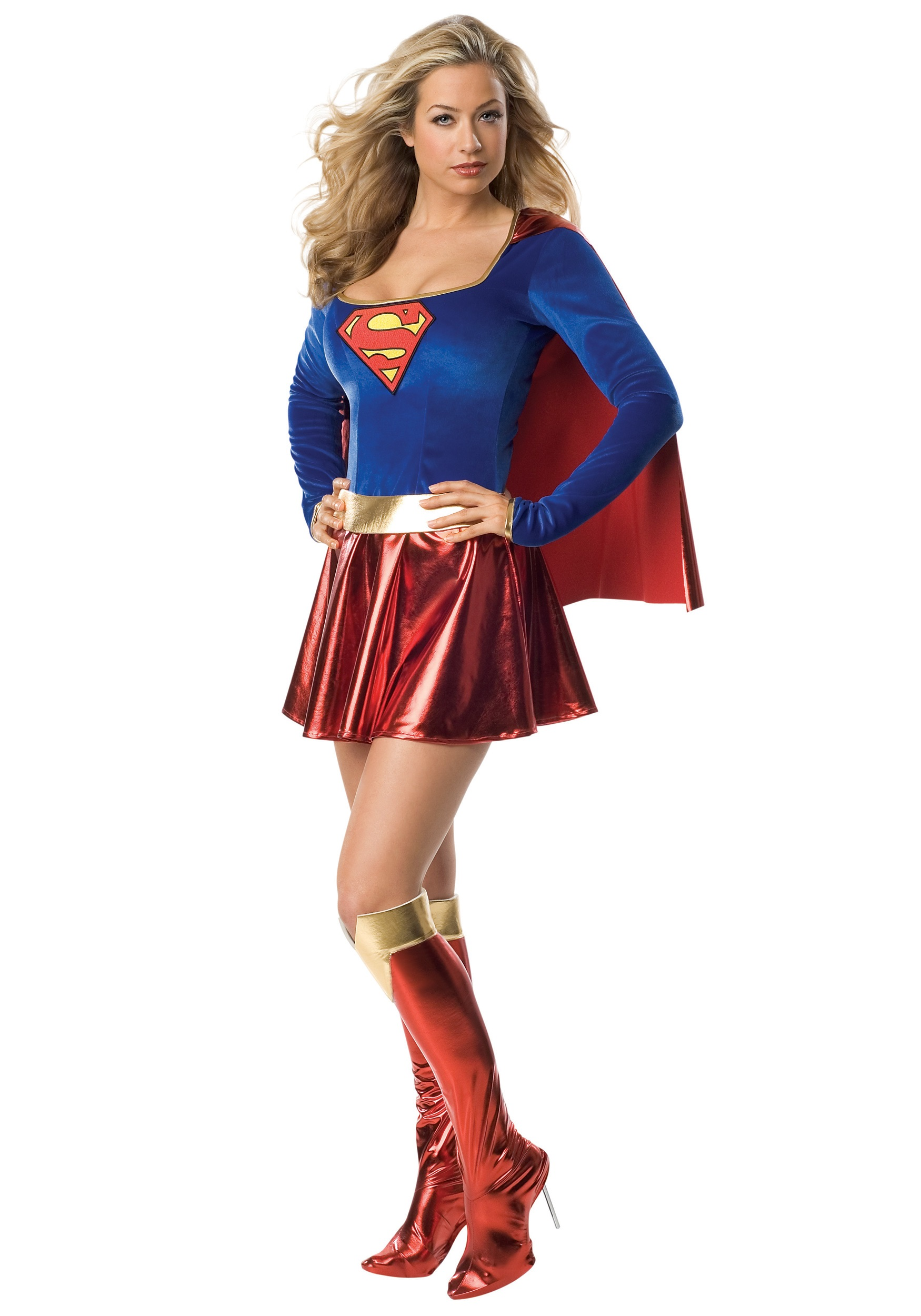 Man of steel supergirl costume