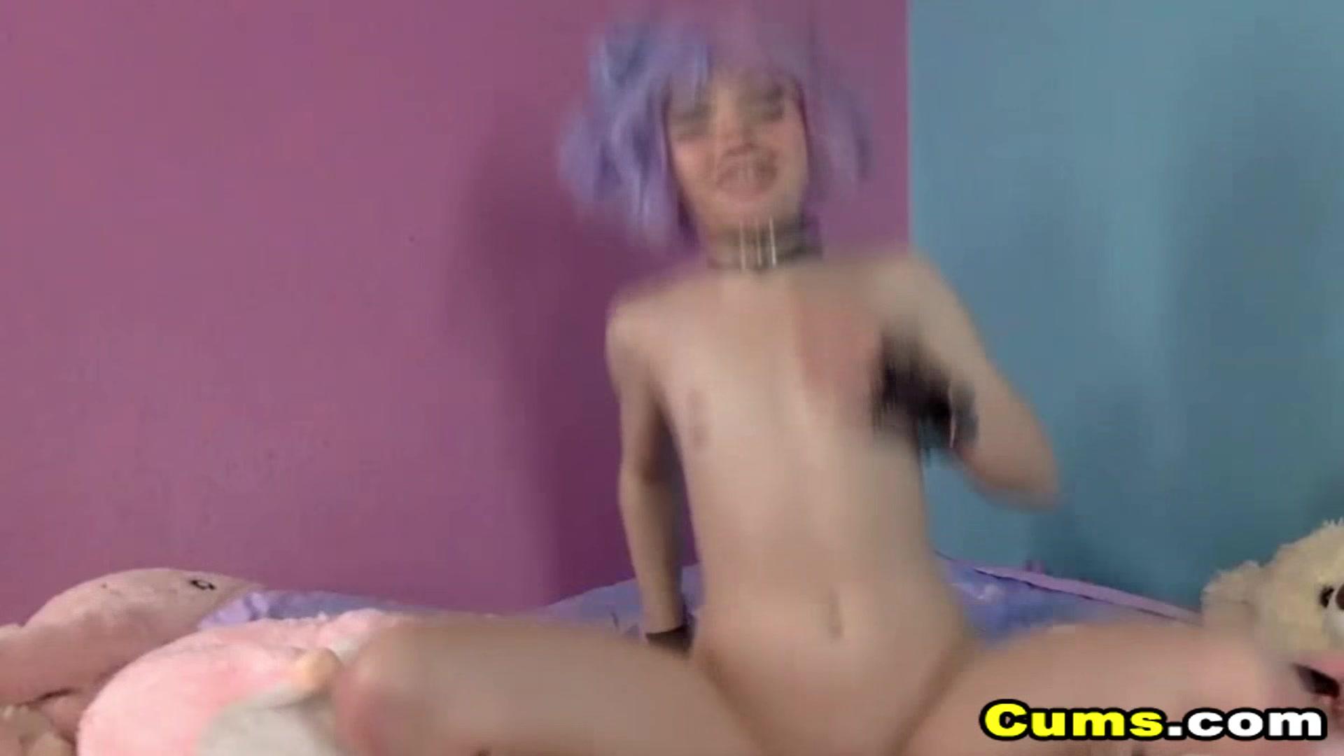Mature mom masturbating orgasm