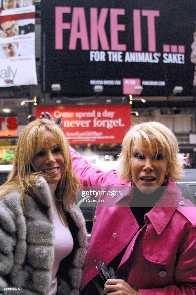Joan rivers fakes