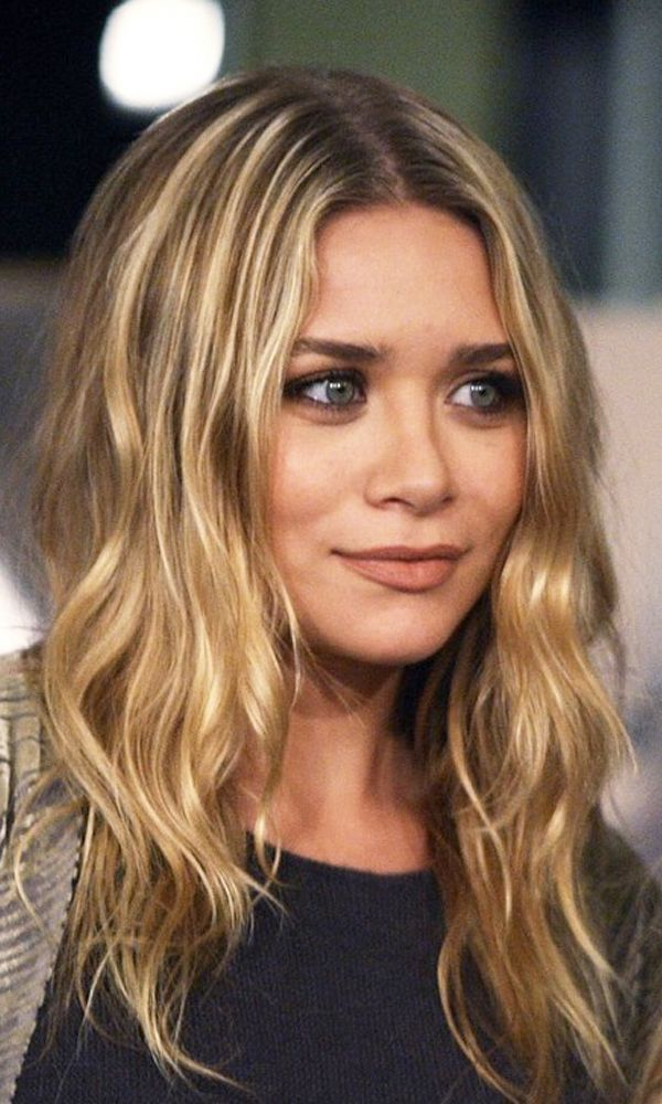 Mary kate and ashley olsen hair color