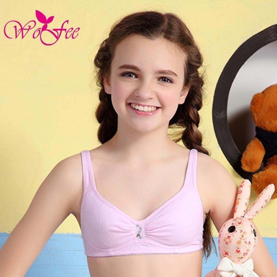 Young teen training bra