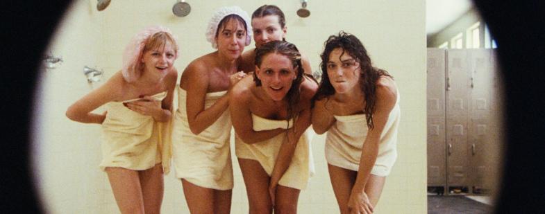 in Hairy shower bush