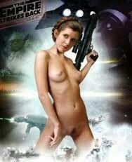 Porn star wars princess leia naked