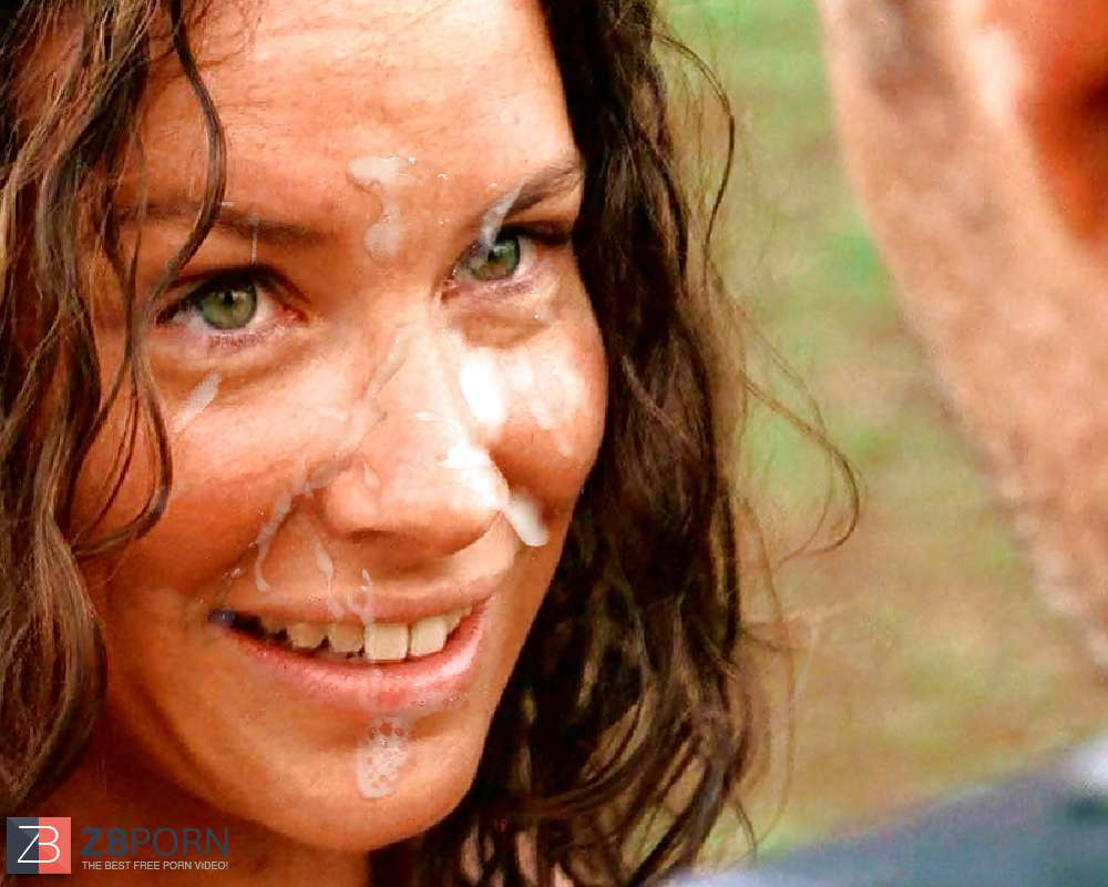 Evangeline lilly fake cum