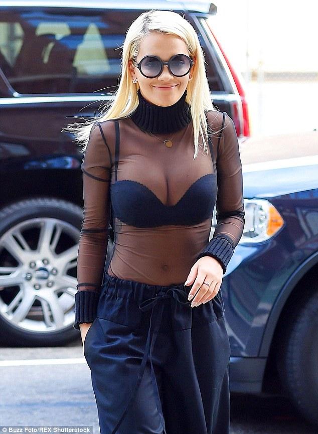 Rita ora breast