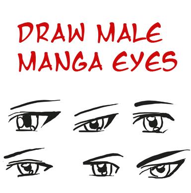 How to draw anime manga eyes