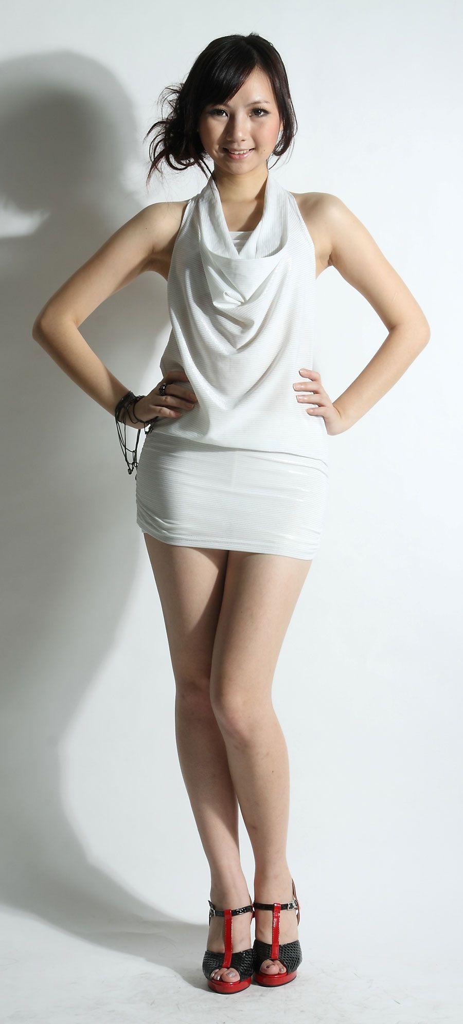 Sexy girl short skirt