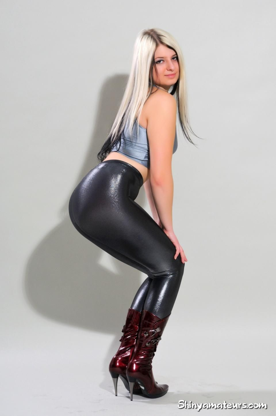 Xxx tight spandex leotard