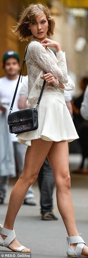 Teen girl spread legs skirt
