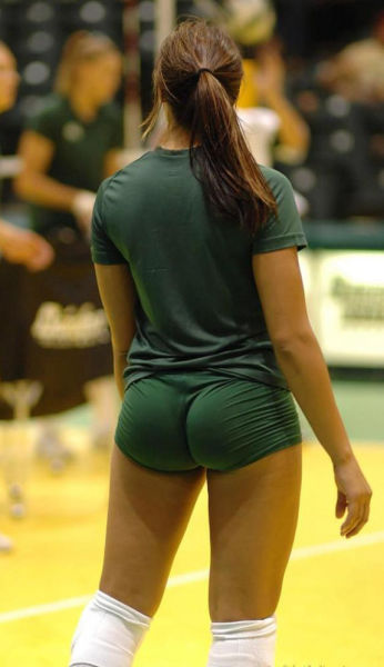 Volleyball big ass girls