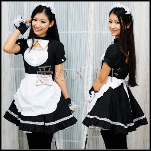 Sexy japanese french maid