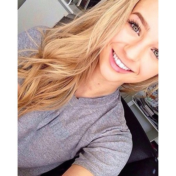 Beautiful blonde teen shower