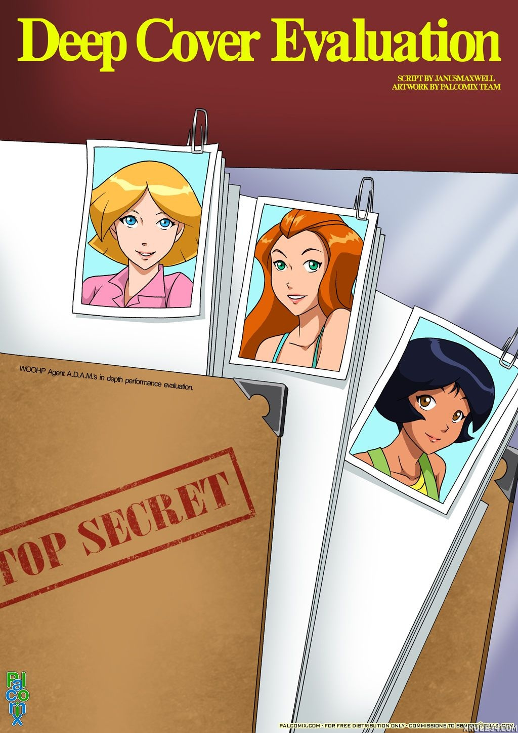 Totally spies hentai porn