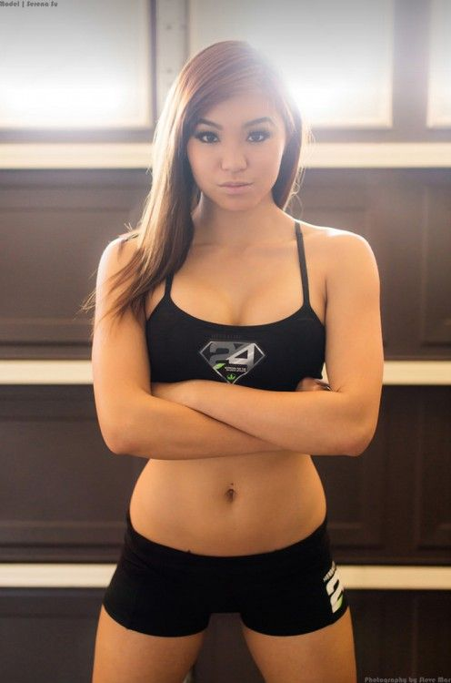 Busty asian american girls