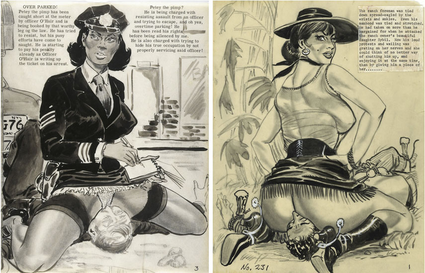 Vintage german bdsm art