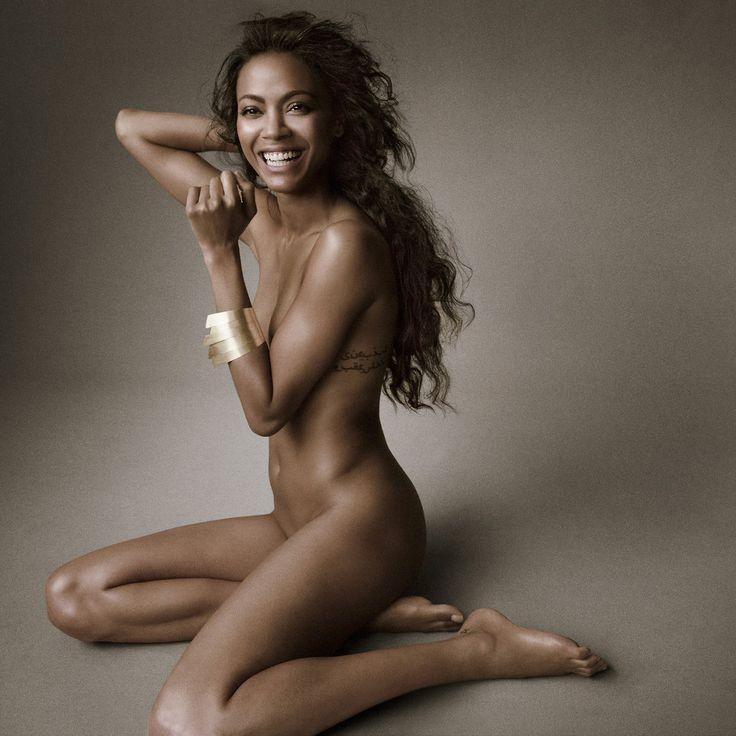 Zoe saldana look alike nude