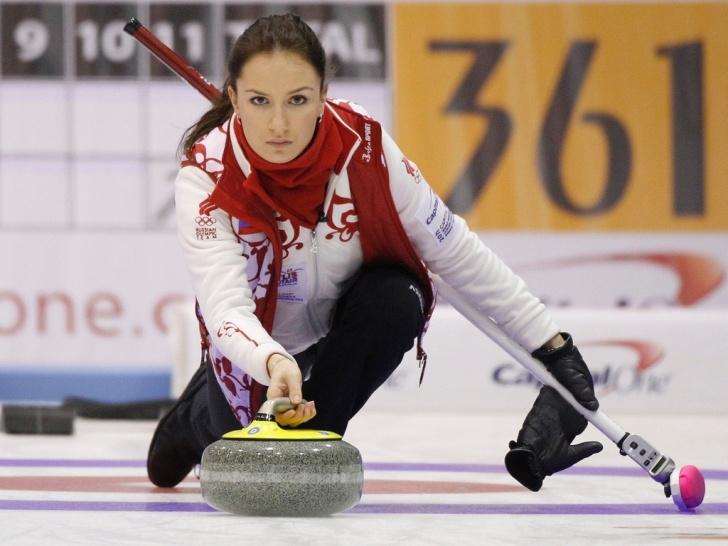 Anna sidorova curling