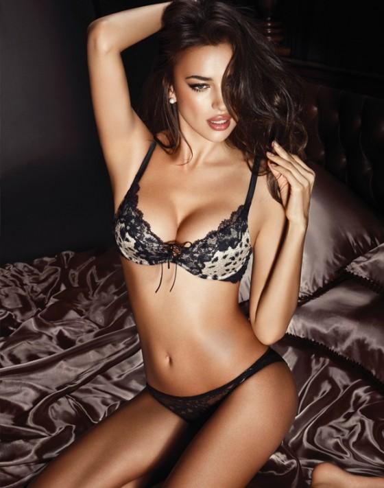 Irina shayk lingerie